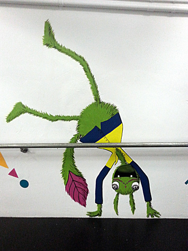 Cartwheel Monster