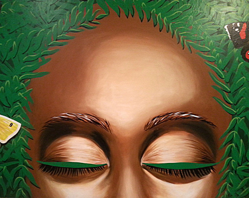 Fern Goddess Face