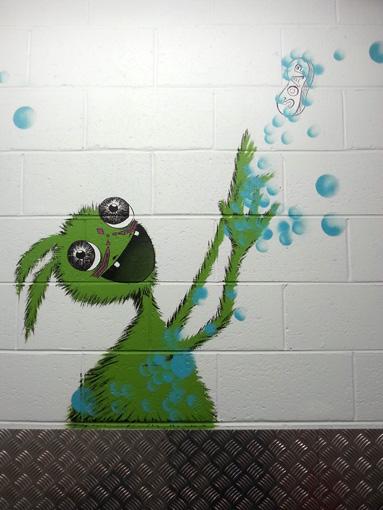 Green Soap Monster