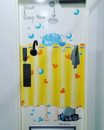 Hipster Shower