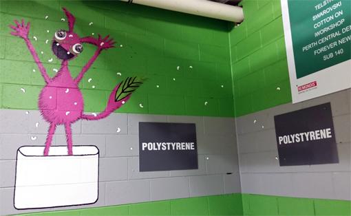 Polysyrene Monster
