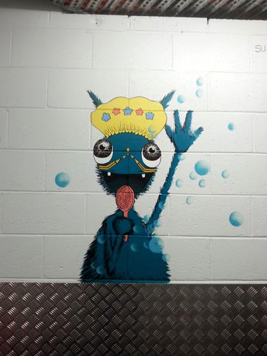 Singing Shower Monster