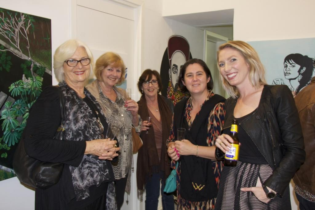 Solo Exhibition - Opening Night